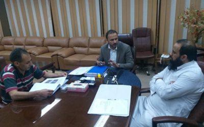 إدارة المكتبات واستعدادات حفل التوقيع على ثلاثين عنوان من إصدارات جامعة بنغازي
